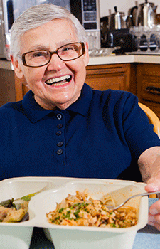 Meals Help Medicaid Consumers Transition to Independent Living