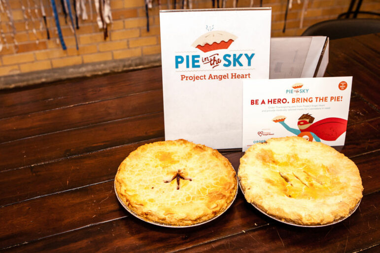 two Pie in the Sky pies