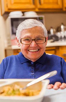 Client Profile: Sister Regis Nuva