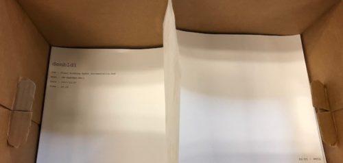 paper in box