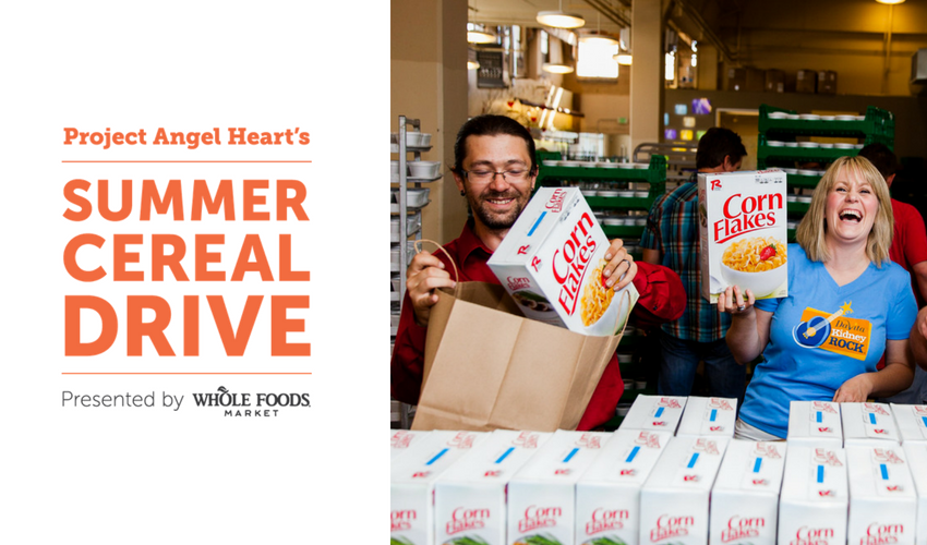 Summer Cereal Drive