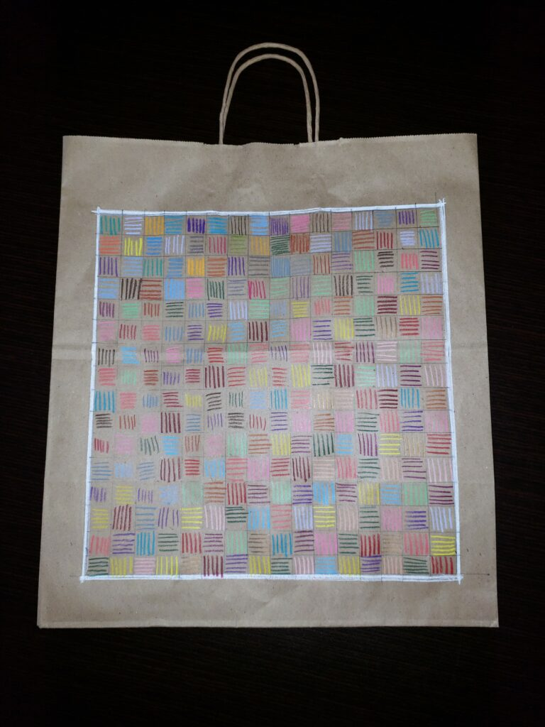 Symbolic Bag Art Shows Each Piece Of The Project Angel Heart Whole