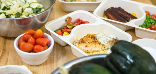 a sampling of Project Angel Heart meals