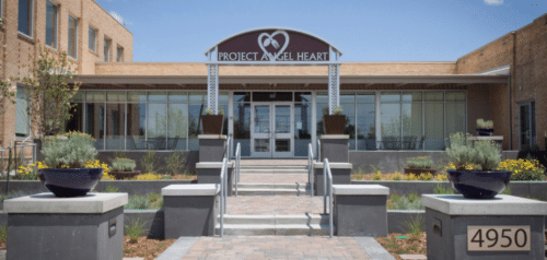 Picture of Project Angel Heart entrance